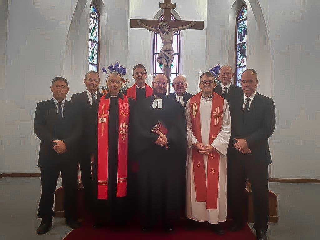 Christusgemeinde Kirchdorf - Einführung von Pastor Karl Böhmer