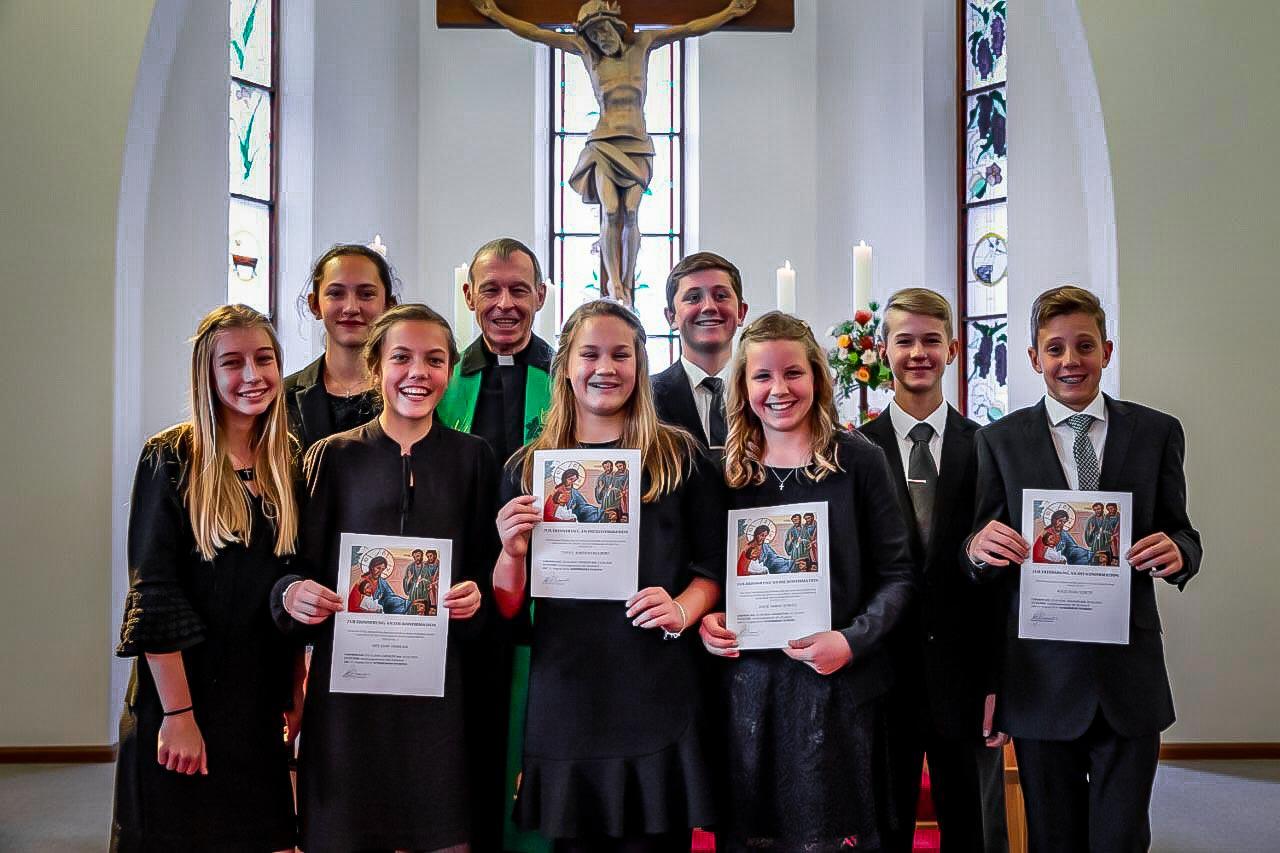 Christusgemeinde Kirchdorf Konfirmanden 2019 Konfirmanden