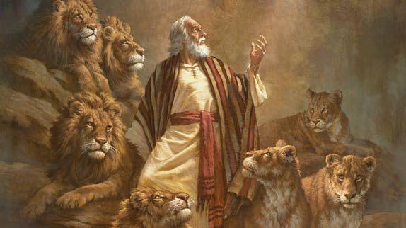 DANIEL in der Loewengrube Löwe
