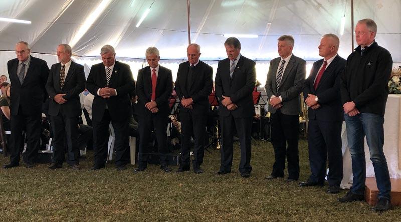 Medallienverleihung am Posaunenfest 2019 zu Lüneburg